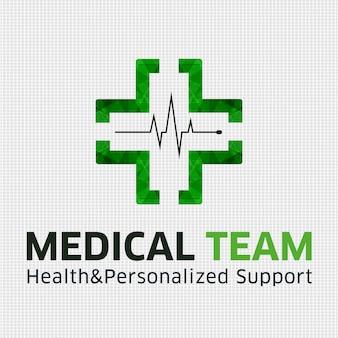 Fondo con diseño médico