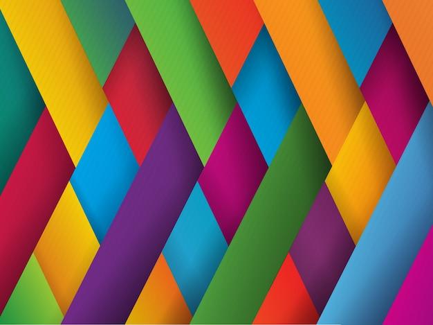 Fondo con diseño multicolor