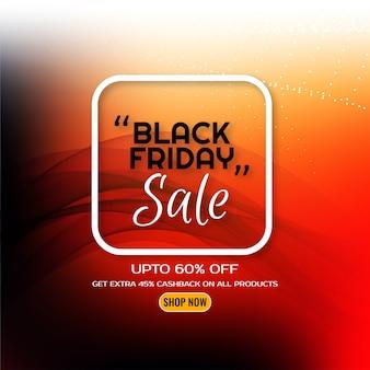 Fondo de diseño ondulado de concepto de viernes negro
