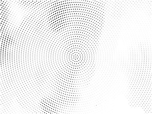 Fondo de diseño de semitono circular moderno abstracto