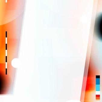 Fondo de distorsión de efecto de falla colorida