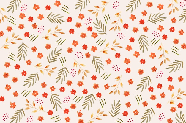 Fondo ditsy floral