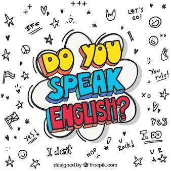 Fondo de do you speak english