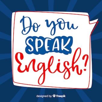 Fondo de do you speak english