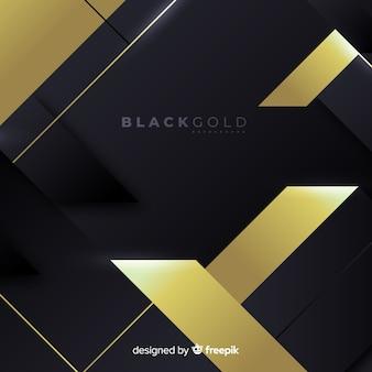 Fondo dorado y negro