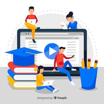Fondo de educación online