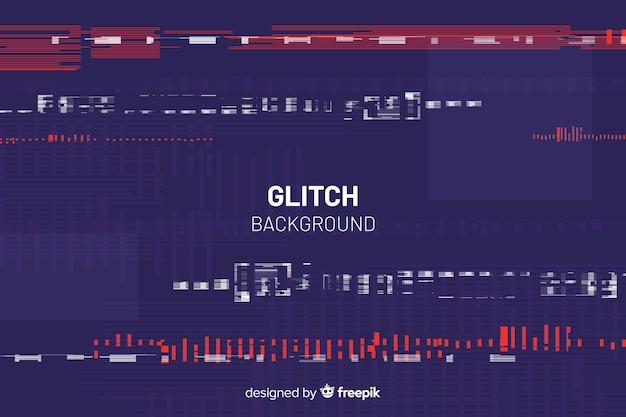 Fondo con efecto glitch