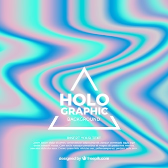Fondo de efecto holográfico