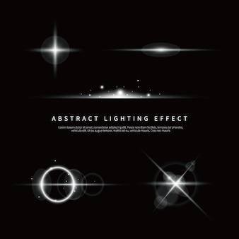 Fondo de efecto de iluminación simple