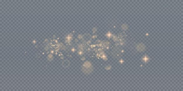 Fondo de efecto de luces de luz bokeh