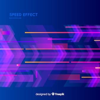 Fondo con efecto de velocidad