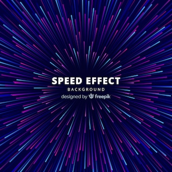Fondo de efecto de velocidad