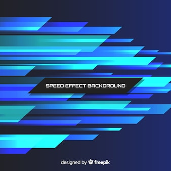 Fondo efecto velocidad