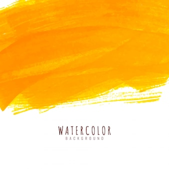 Fondo elegante acuarela abstracta brillante amarillo