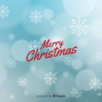 Fondo elegante borroso de navidad