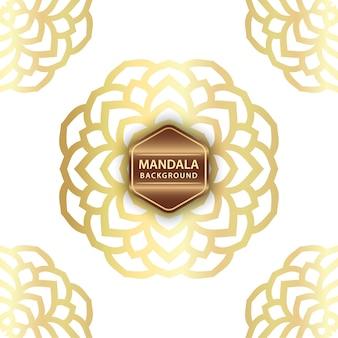 Fondo elegante mandala