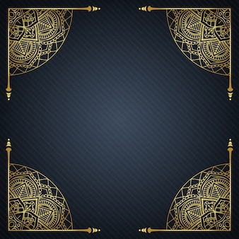 Fondo elegante con marco decorativo