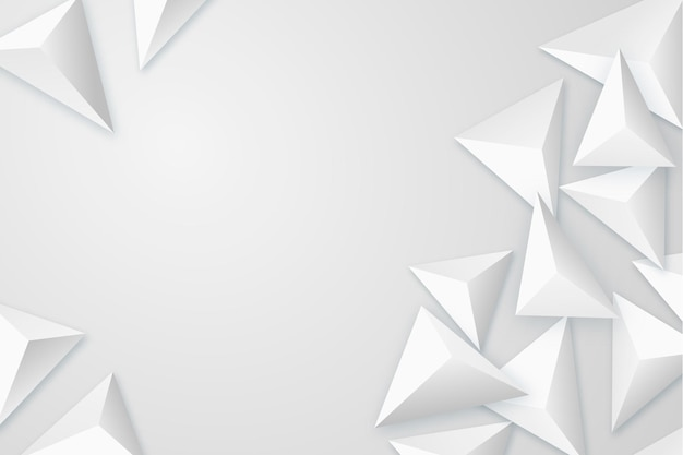 Fondo elegante con polígonos 3d