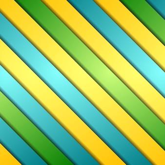 Fondo elegante de rayas coloridas abstractas. diseño vectorial