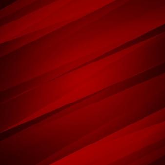 Fondo elegante rojo geométrico