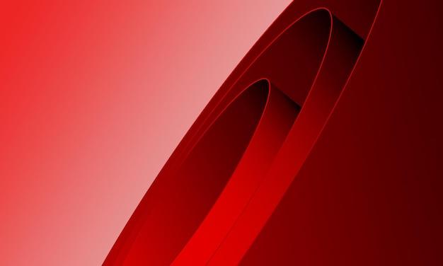 Fondo de envoltura enrollada rojo abstracto. el mejor diseño para tu negocio.