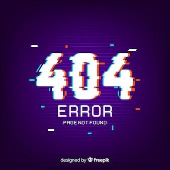 Fondo de error 404