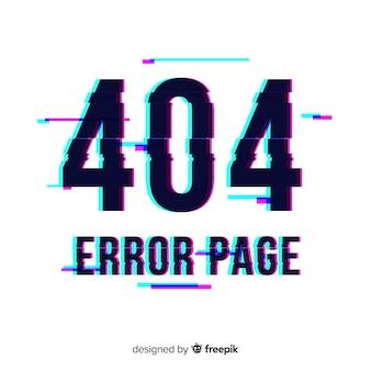 Fondo de error de página
