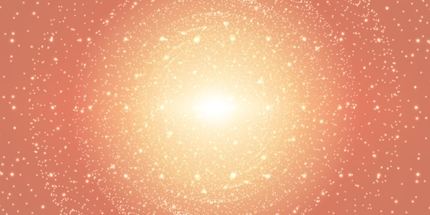 Fondo de espacio infinito.