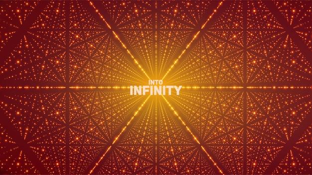 Fondo del espacio infinito