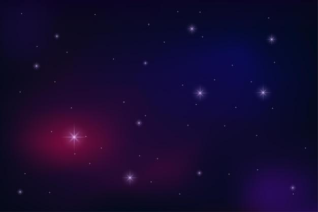 Fondo del espacio. papel pintado abstracto de la luz de la estrella