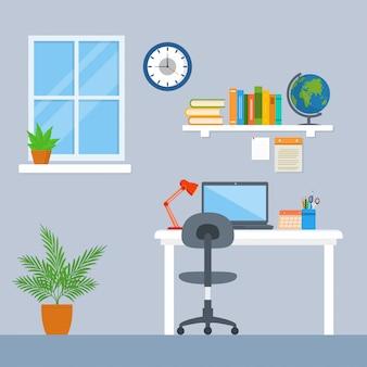 Fondo del espacio de trabajo