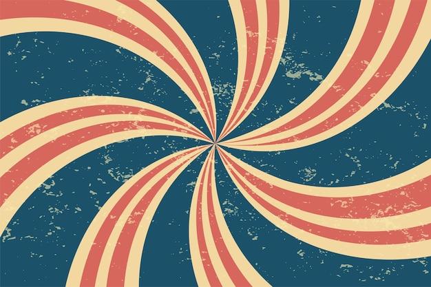 Fondo de espiral retro grunge