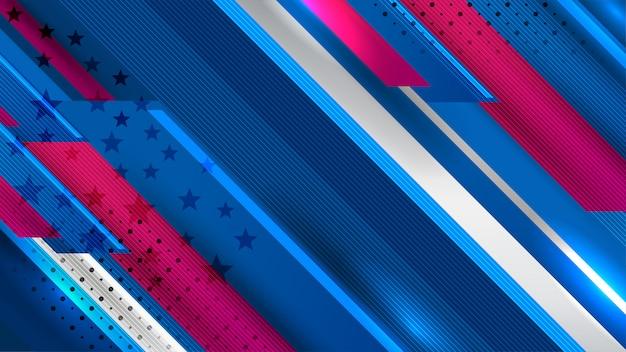 Fondo de estados unidos para el día de la independencia