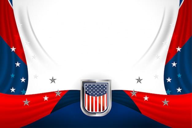 Fondo de estados unidos para el día del presidente