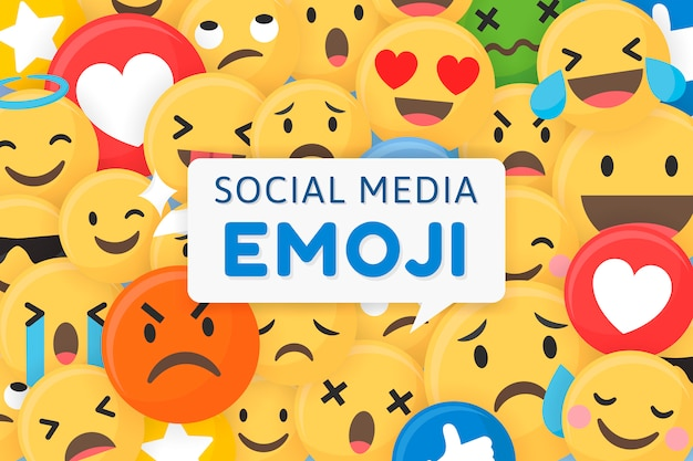 Fondo estampado emoji