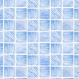 Fondo estampado geométrico transparente acuarela azul índigo