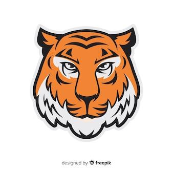 Fondo de estampado de tigres