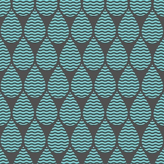Fondo estilizado con gotas de agua