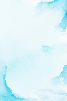 Fondo de estilo acuarela azul