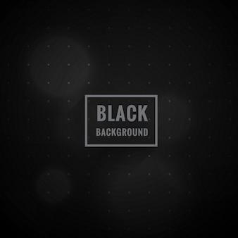 Fondo del estilo del bokeh negro