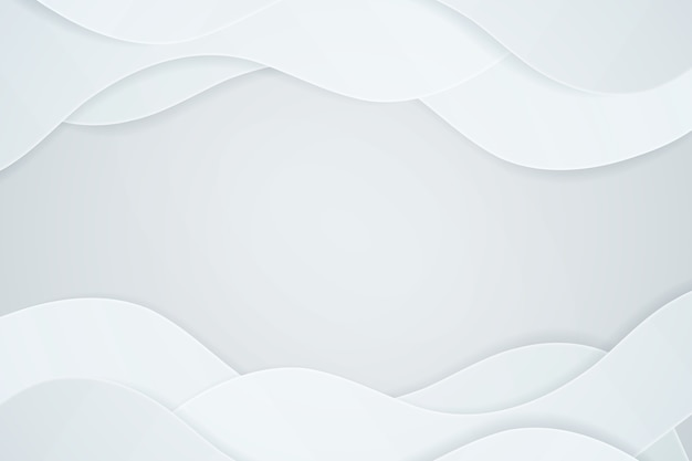 Fondo de estilo de papel blanco 3d