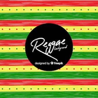 Fondo de estilo reggae