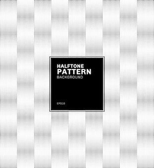 Fondo de estilo de semitono de patrón cuadrado geométrico abstracto.