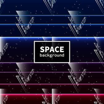 Fondo de estrellas espaciales