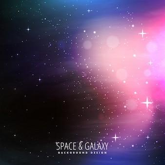 Fondo de las estrellas del universo