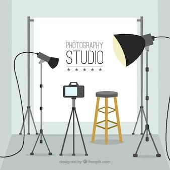 Fondo estudio de fotografía