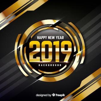 Fondo de feliz año 2019