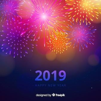 Fondo de feliz año nuevo