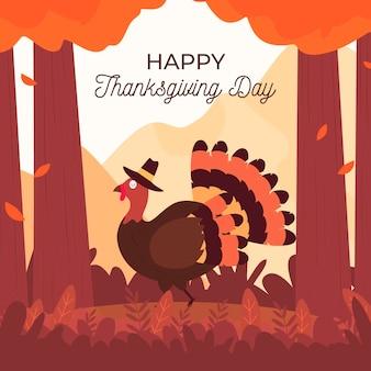 Fondo feliz día de acción de gracias