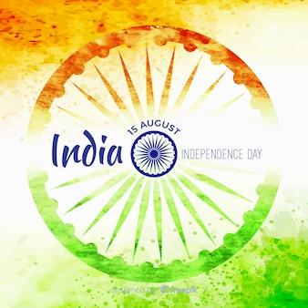 Fondo de feliz día de la independencia india